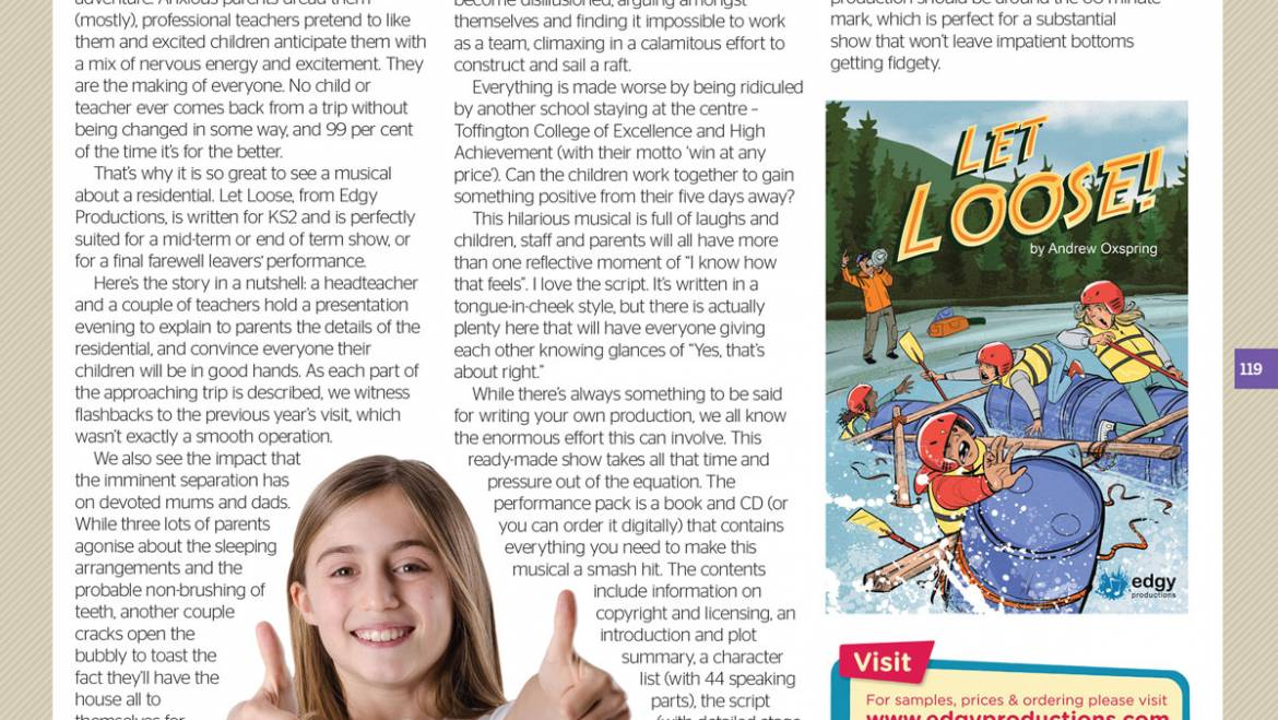 A fantastic review of 'Let Loose!'